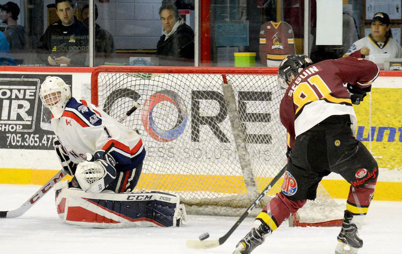 GALLERY: Timmins takes series opener against Cochrane